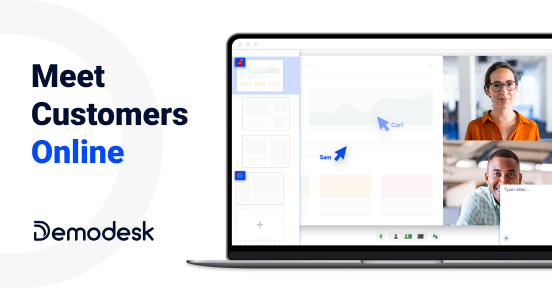 Demodesk – Intelligent online meeting tool for sales