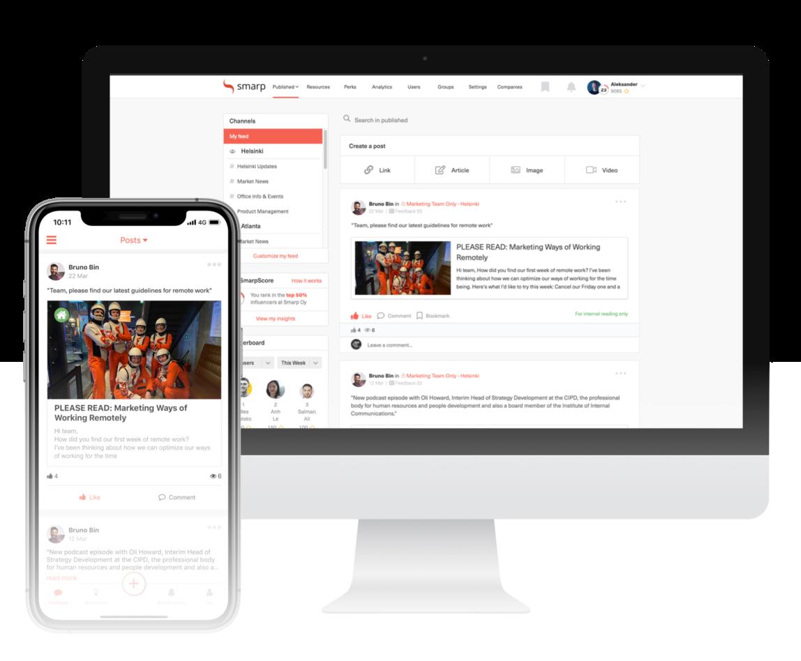 Smarp – Employee Communications Platform